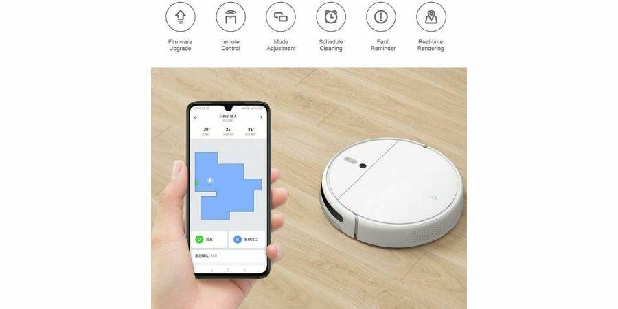 app Xiaomi Robot Vacuum-Mop