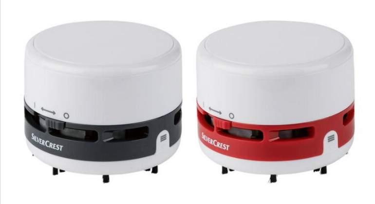 Mini robot aspirador Lidl SilverCrest por menos de 8 €