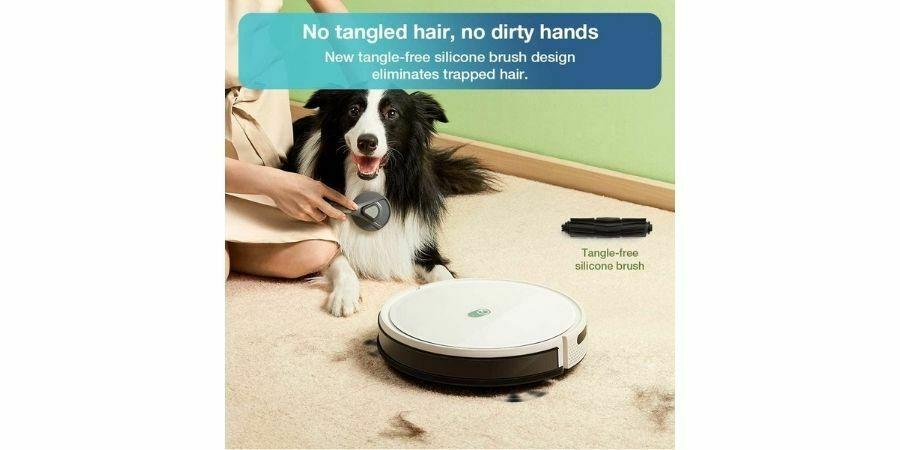 Yeedi K650 aspira pelos de mascota perros y gatos